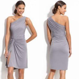 Maggy London Side Twist One Shoulder Dress